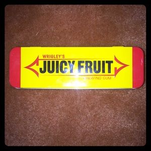 Old school Juicy Fruit container